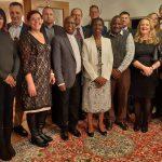 SME Aisle Namibian Business delegation dinner at the ambassador HE George Liswaniso's residence.