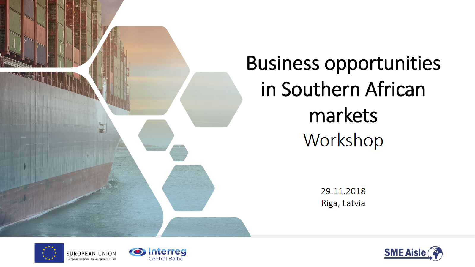 Click to open Business opportunities in Southern African markets presentation.