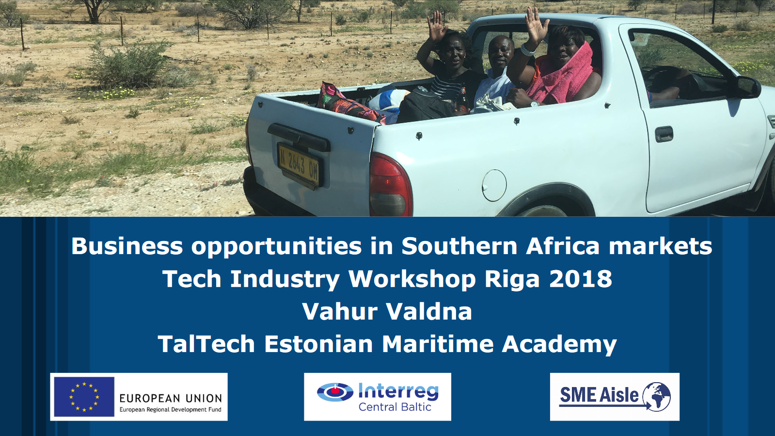 Click to open Business opportunities in Southern Africa presentation.