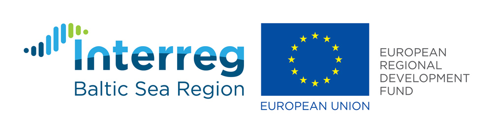 Financier logo: Interreg Baltic Sea Region.