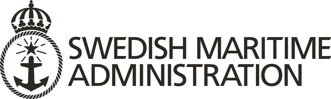 Swedish maritime administration logo.