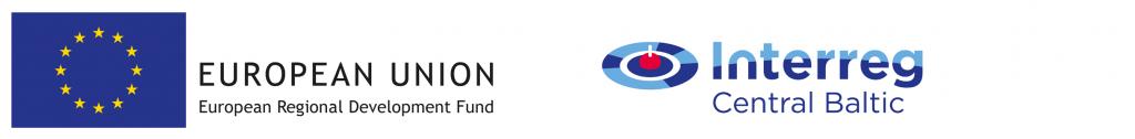 EU and Interreg Baltic logo.