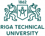Riga Technical University logo.